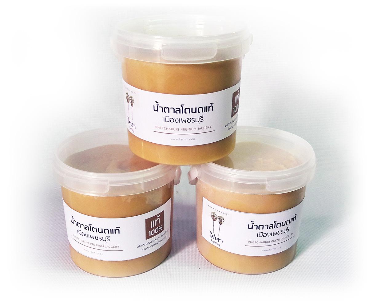 น้ำตาลโตนดแท้เมืองเพชรบุรี โดยไร่เรา Farmily